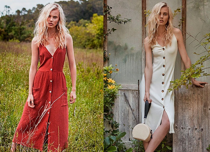 Vestidos largos para llevar en verano
