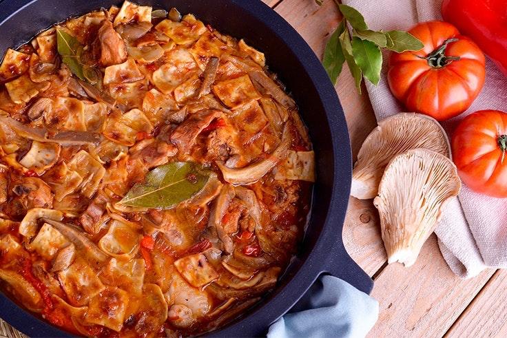 Gazpacho manchego receta