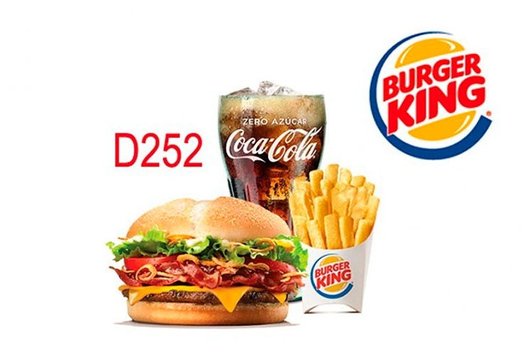 menu burger king