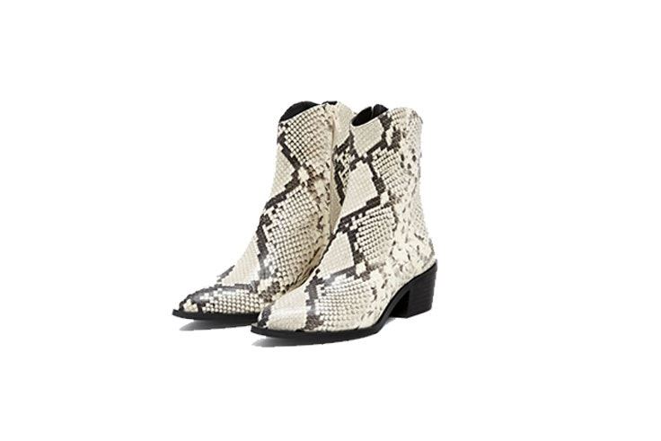 botines piel mujer pull and bear