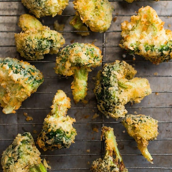 brocoli en tempura