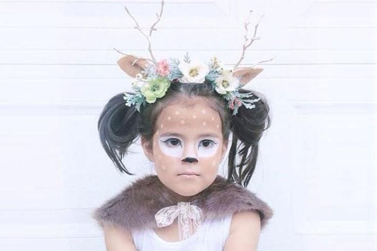 maquillaje carnaval niña