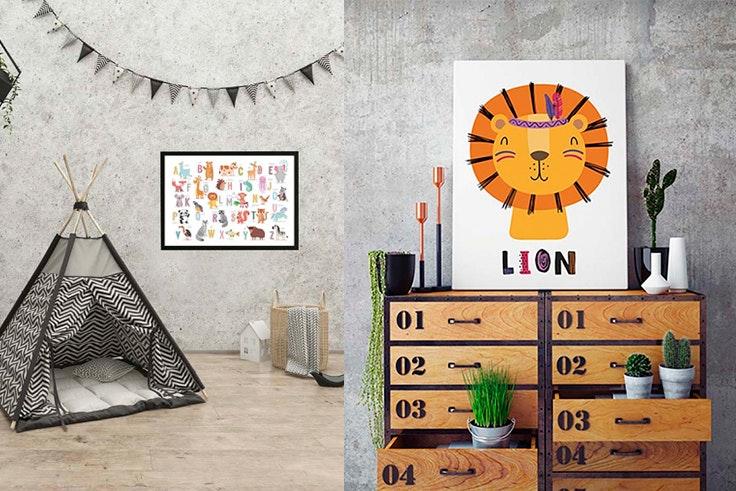 Añade-decoración-infantil-de-pared