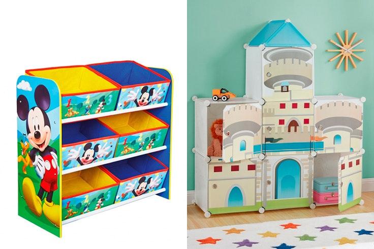 Reserva espacio para los juguetes