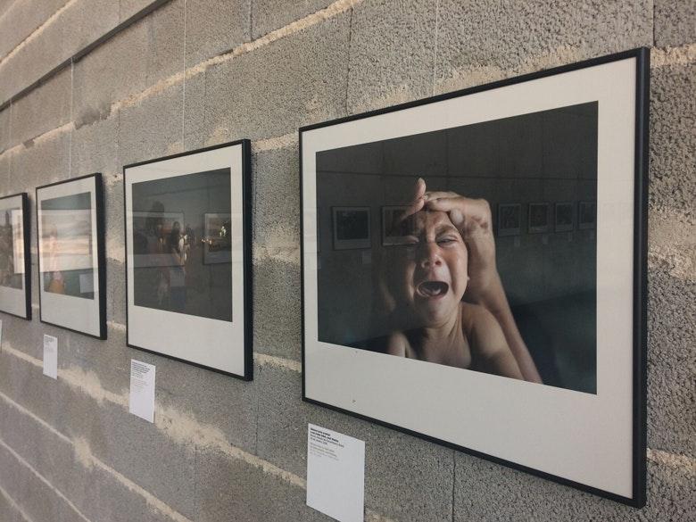 Exposição Rostos da Depressão Estação Viana