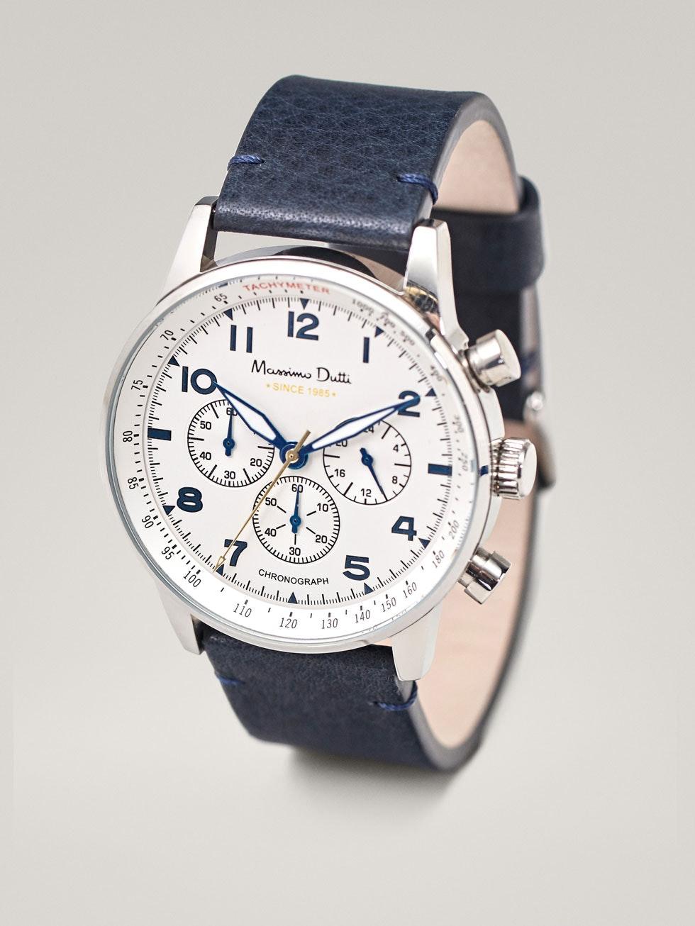 Relógio, 129€, na Massimo Dutti