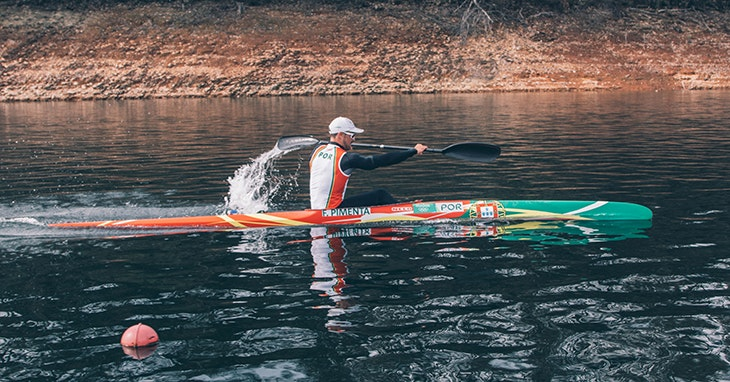 Fernando Pimenta, campeão do mundo de canoagem