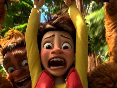 """""""Bigfoot Junior"""" no nosso Centro."""