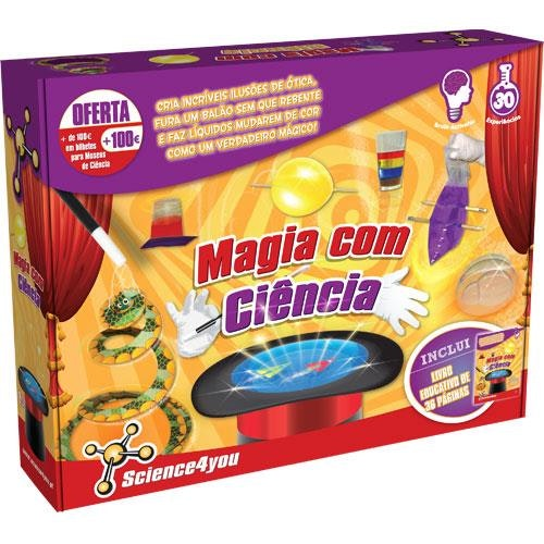 Magia com ciência, Science4you, 19,99€