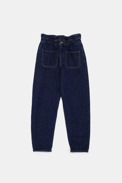 Jeans de cintura paperbag, 29,95€