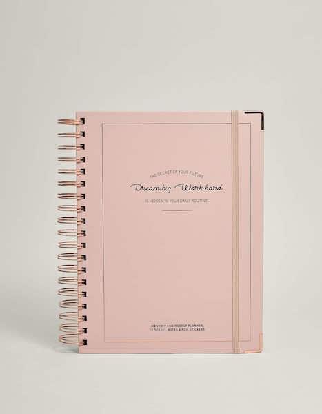 Agenda, Stradivarius, 19,99€