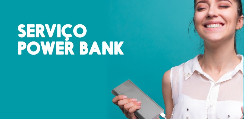 Os power banks já estão ao seu serviço no Estação Viana!