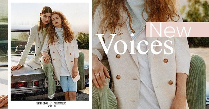Mango: as vozes da nova coleção