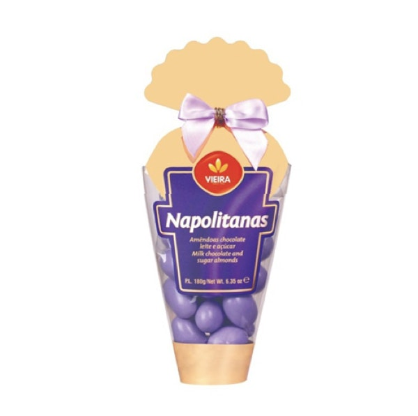 Amêndoas Chocolate Napolitanas Cone, 4,39€