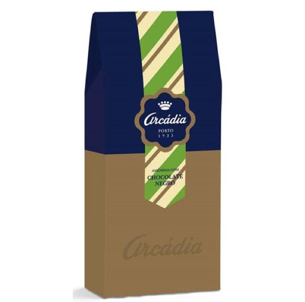 Amêndoas Chocolate Negro Caixa Fantasia, 4,90€