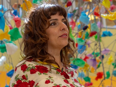 Madalena Martins: a artista que quer consciencializar