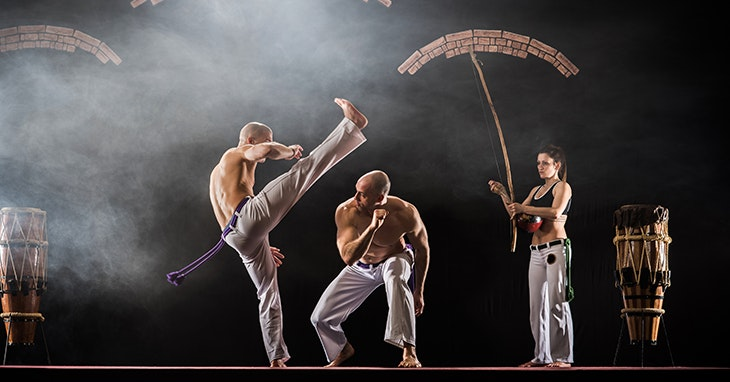 Festival Internacional de Capoeira: dançar arte