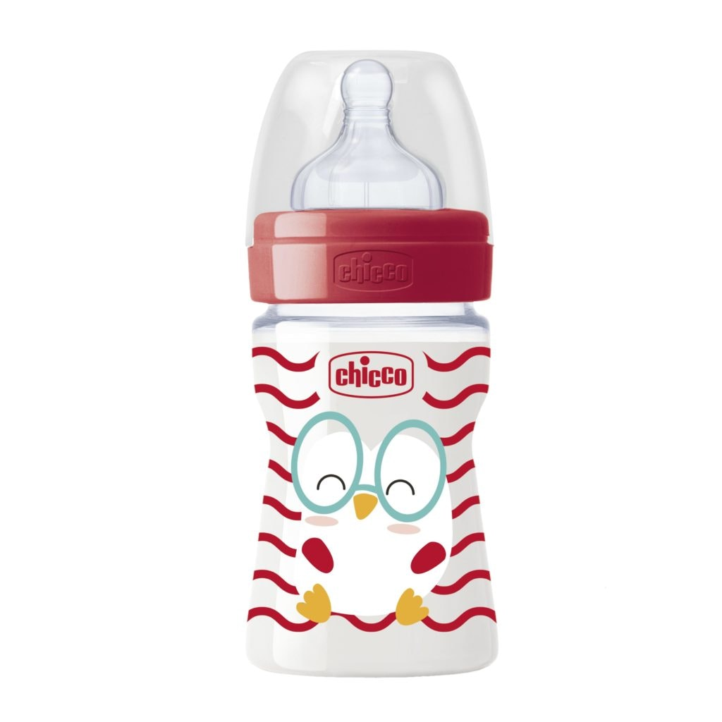 Biberões Well-Being | 0m+, 2m+ e 4m+ | 10,69€ na Chicco