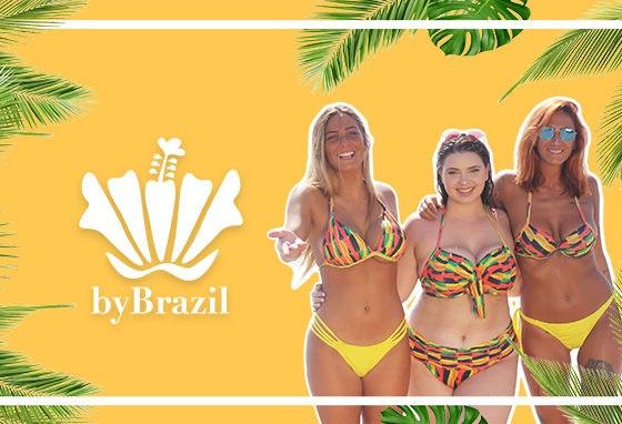 Os biquínis da By Brazil trazem o calor ao nosso Centro
