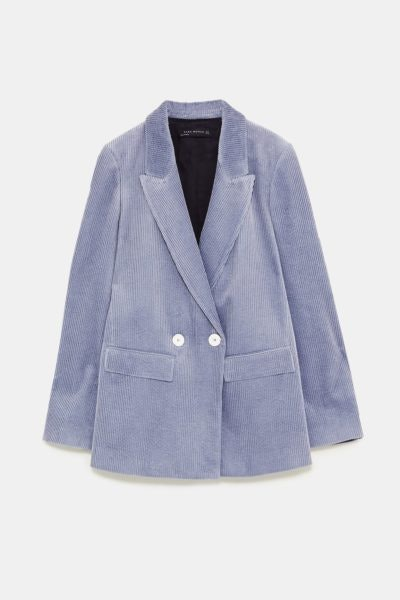 Blazer cruzado, Zara, 59,95€