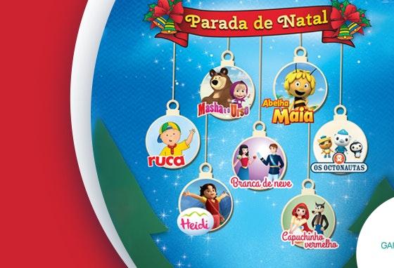Parada de Natal: animação para os mais pequenos