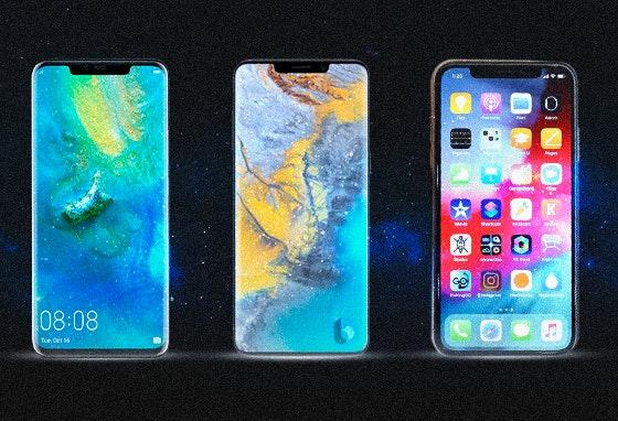 O top 3 dos novos Smartphones: o futuro já chegou!
