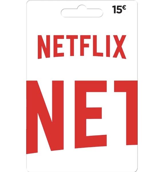 Cartão Netflix, Worten, 15€