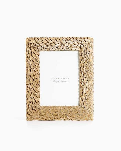 Moldura, Zara Home, 19,99€