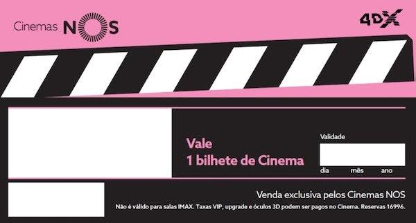 Voucher, Cinema Nos, 12€