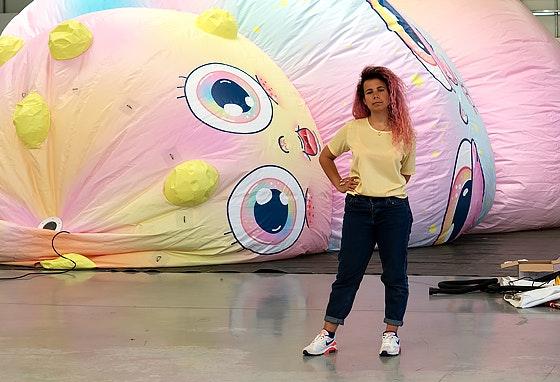 Maria Imaginário, a artista por detrás do Balloon Festival
