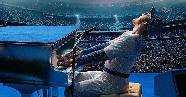 Rocketman: a vida de Elton John dá um filme