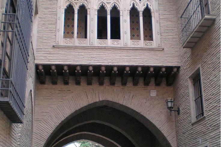 arco y casa del dean