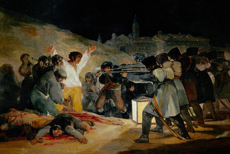 El tres de mayo de 1808 en Madrid (Los fusilamientos)