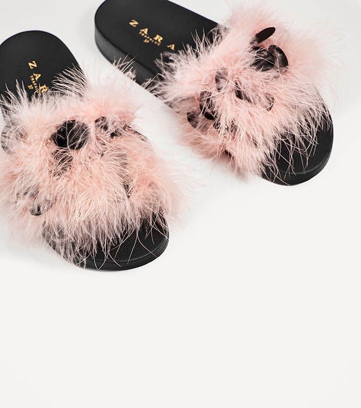 sandalias planas con pelo, ¿sí o no?