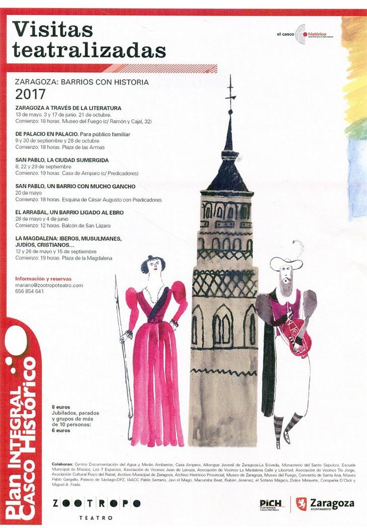 Zaragoza a través de la literatura