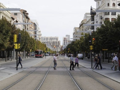 Zaragoza a través de la literaturaZaragoza a través de la literatura