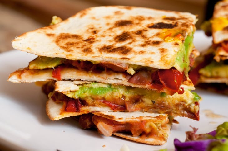 quesadilla vegetariana