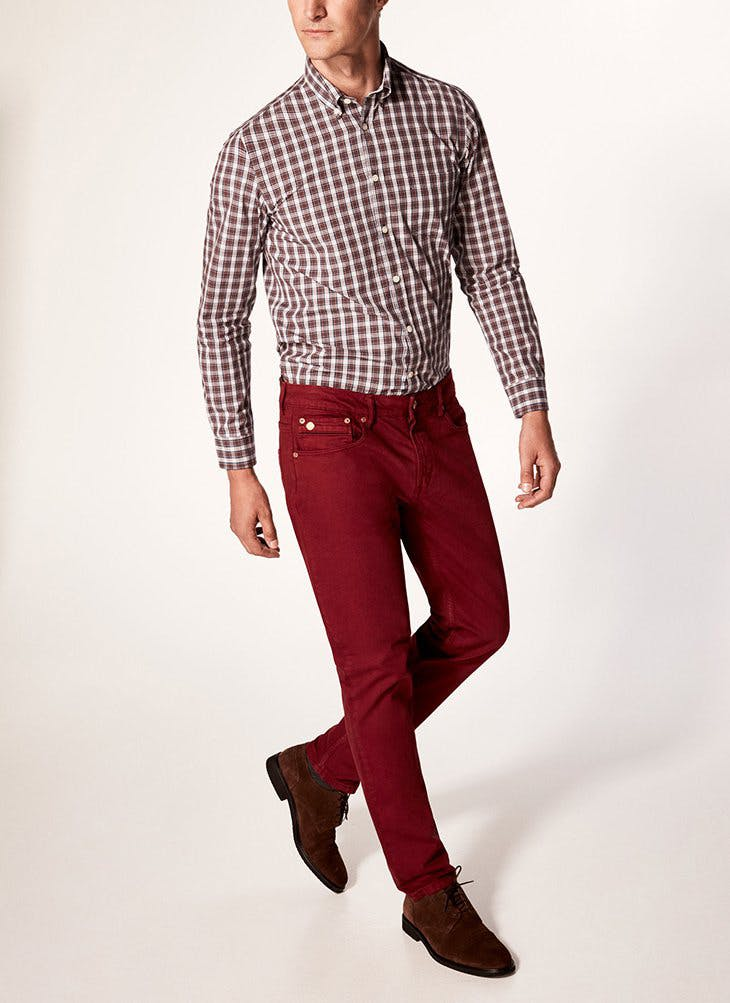 pantalones de vestir para él