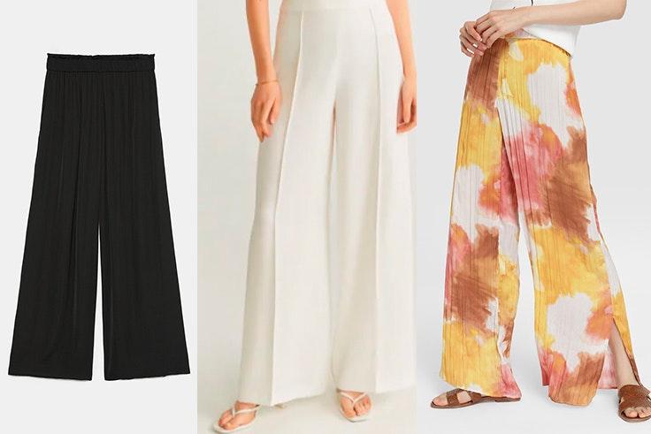 6 Tipos De Pantalones Palazzo Para Fiestas