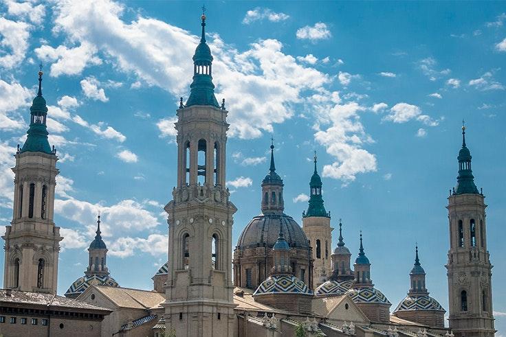Basílica del Pilar de la ciudad de Zaragoza