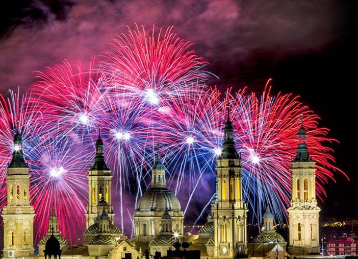 Conciertos de las fiestas del pilar en Zaragoza