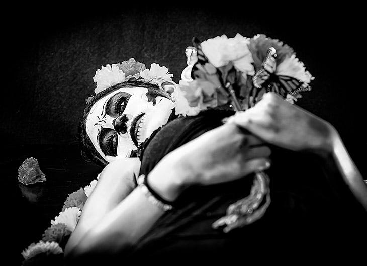 maquillaje halloween mujer 2017