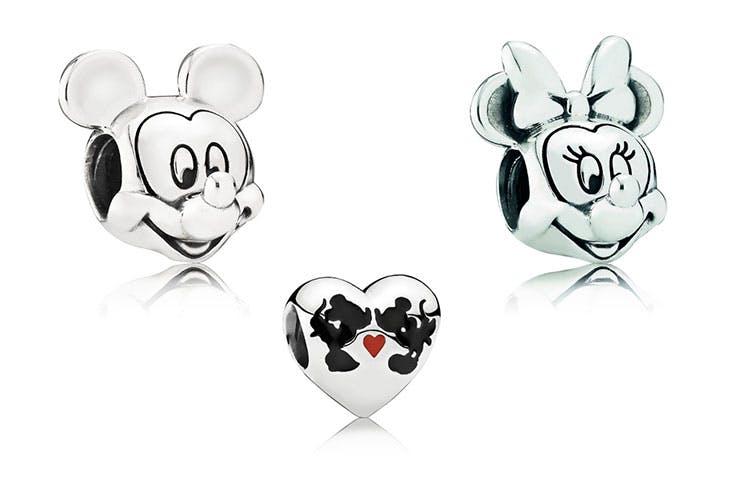 Mickey, Minnie, Mouse, Pandora, joyas