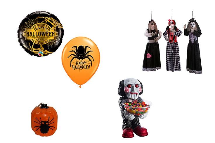decoración casa Halloween