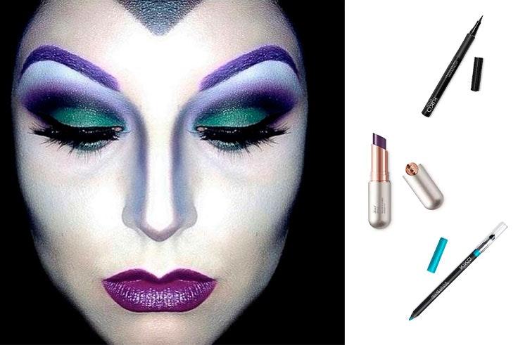 Maquillaje para Halloween 2018 Bruja