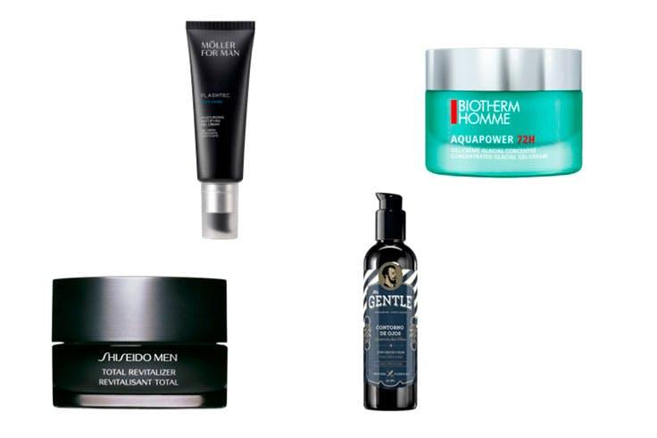 cosmética tratamiento belleza hombre