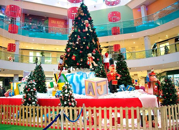 Actividades, decoración e iluminación de GranCasa en Navidad