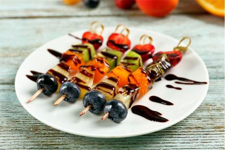 recetas saludables postre fruta