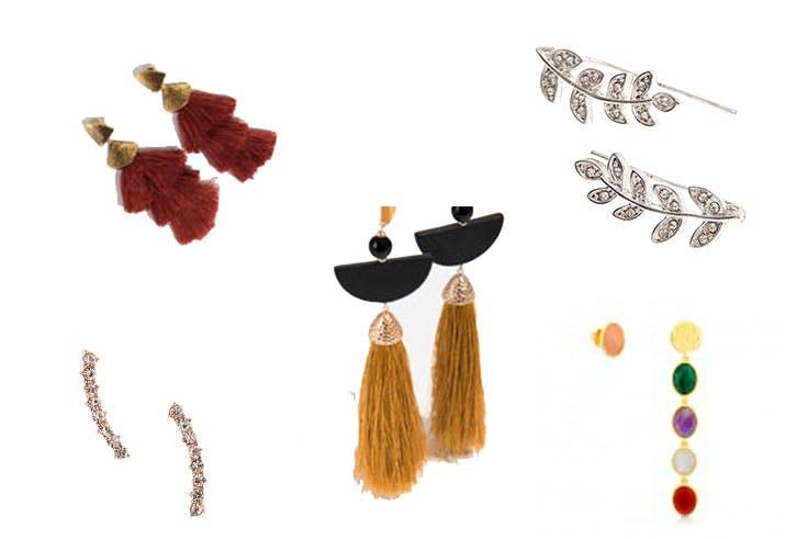accesorios pendientes moda