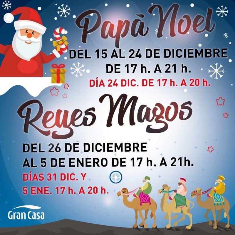 Papá Noel Reyes Magos